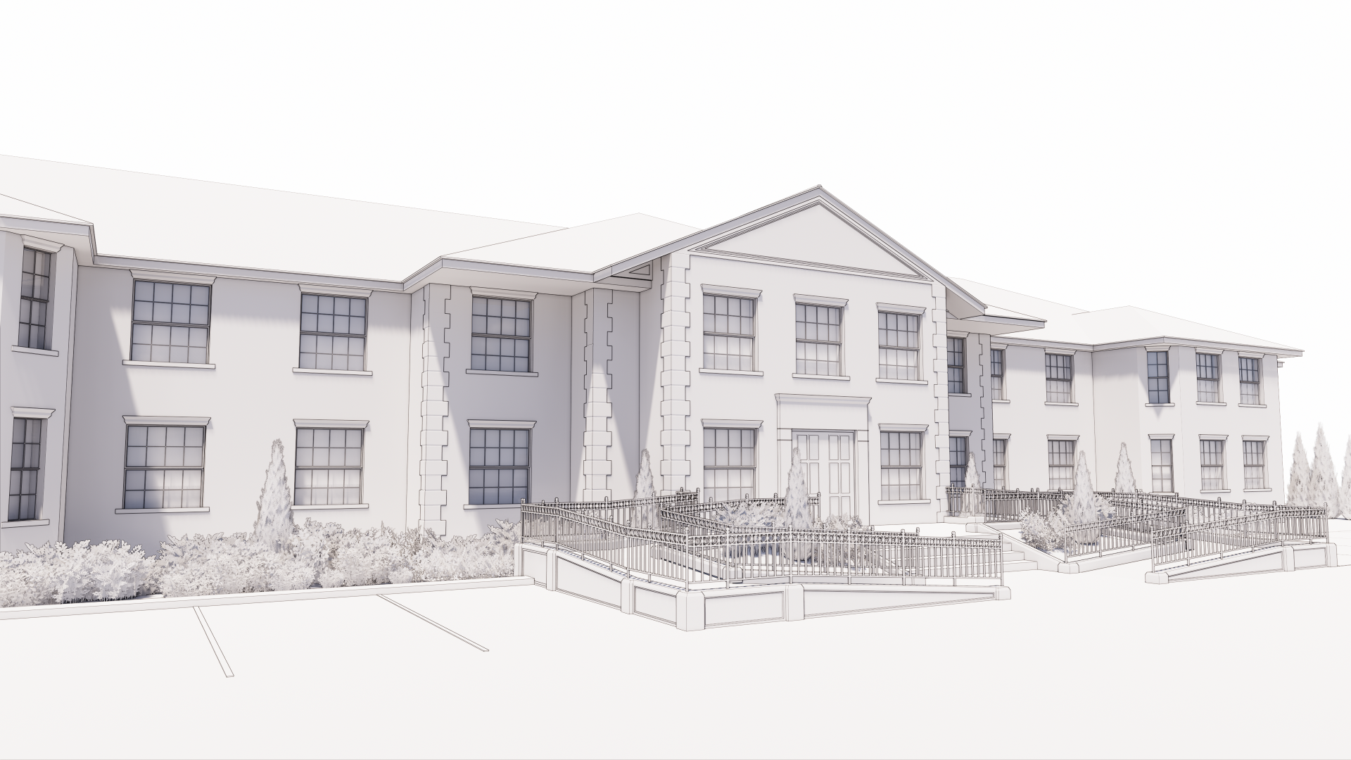 Design of Lauriston House for Kyn