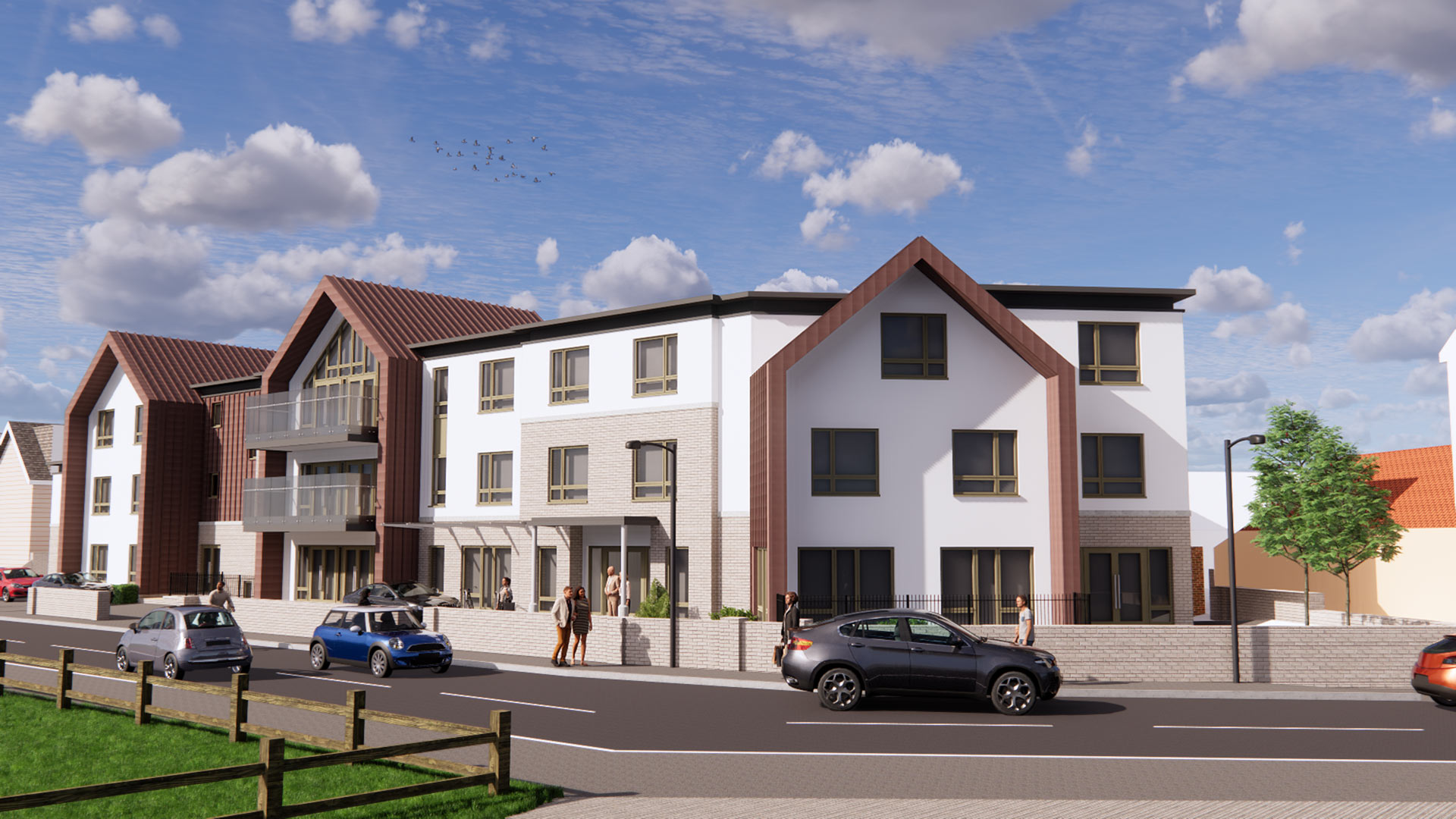 Carless + Adams Architects design care home in Lancing