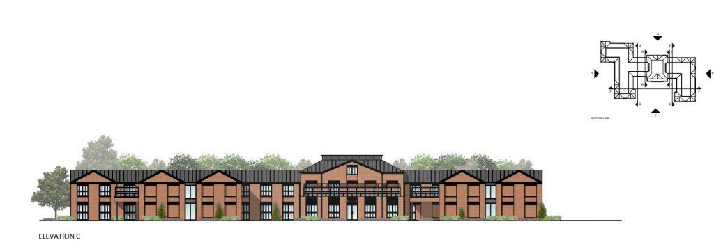 Thame Care Home Elevation Plans