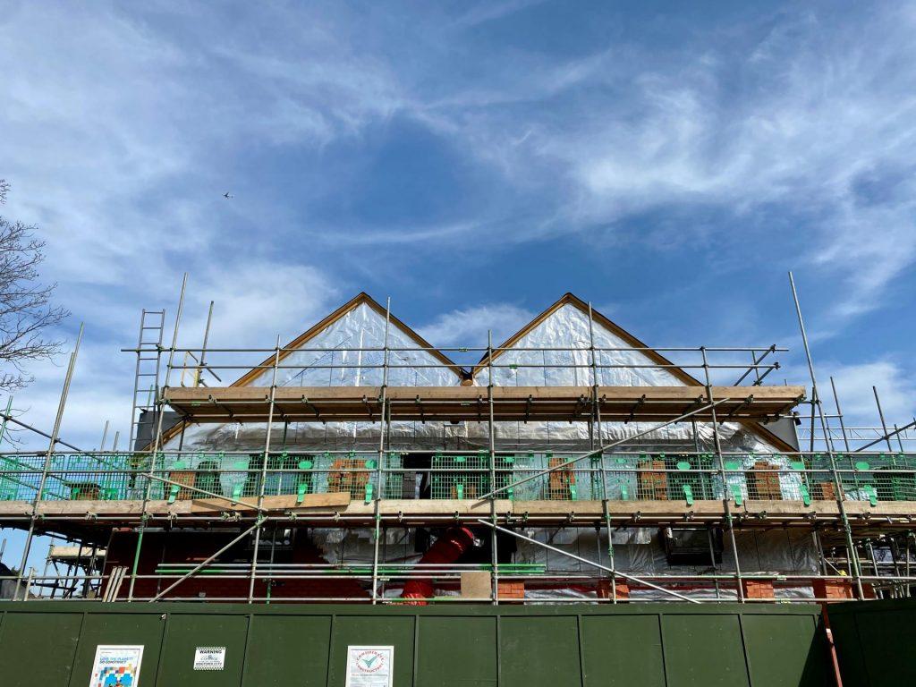 Carless + Adams Architects design in development: Lord Harris Court, Sindlesham