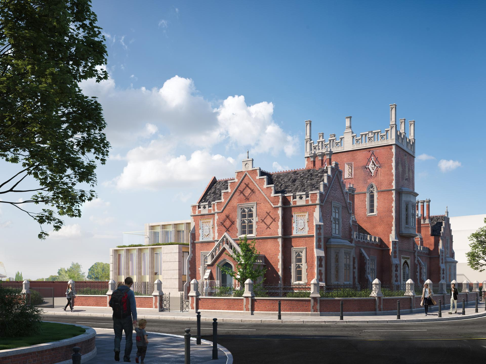 Castle Club Fulham Care Home Carless + Adams interior architects