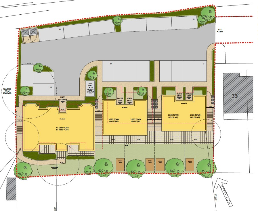Carless + Adams plans for West Wycombe