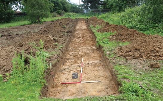 Carless + Adams Architects design and archeological survey at Southlands Sittingbourne